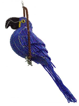 beaded hyacinth macaw