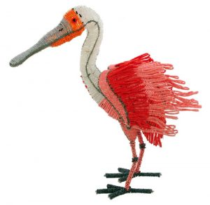 beaded spoonbill