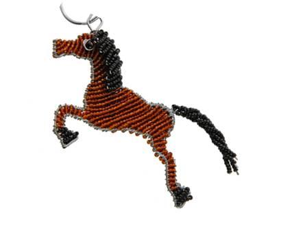 horse key chain, horse keychain, horse keyring