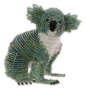 beaded koala figurine