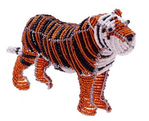 beaded tiger