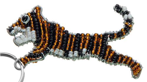 tiger key chain, tiger keychain, tiger keyring