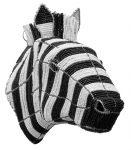 zebra trophy head, zebra trophy mount, zebra wall mount