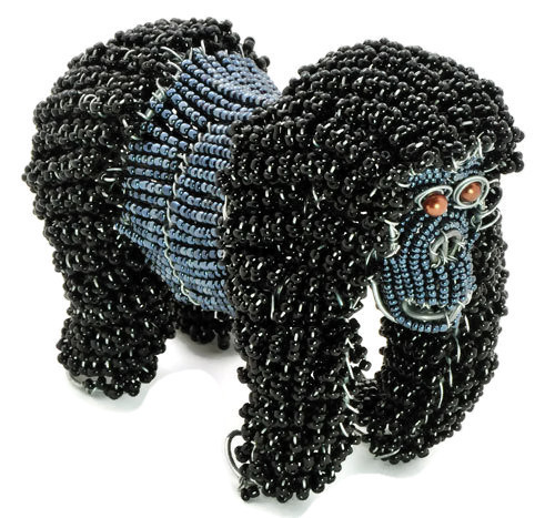 beaded gorilla