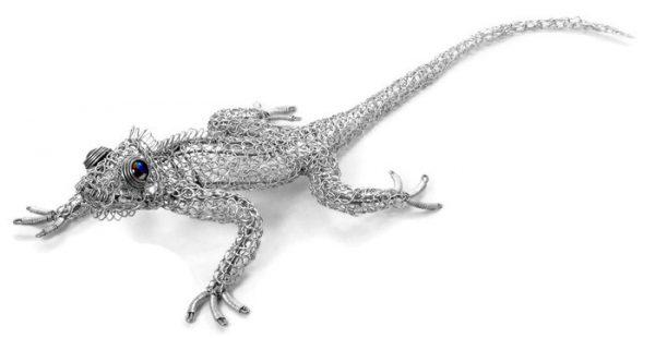 wire gecko, wire lizard