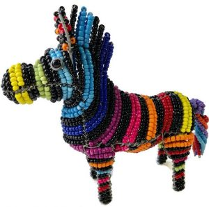 beaded zebra, cartoon zebra