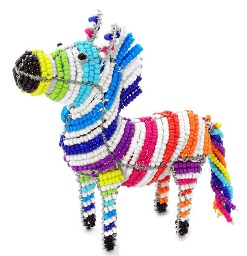 cartoon zebra, zebra figurine