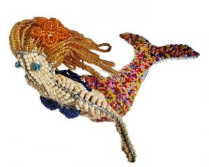 beaded mermaid