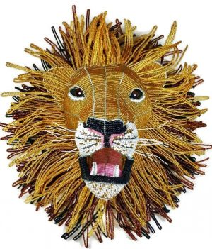 lion trophy head